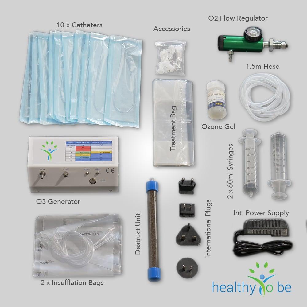 ozone generator ozone super bundle with all ozone accessories