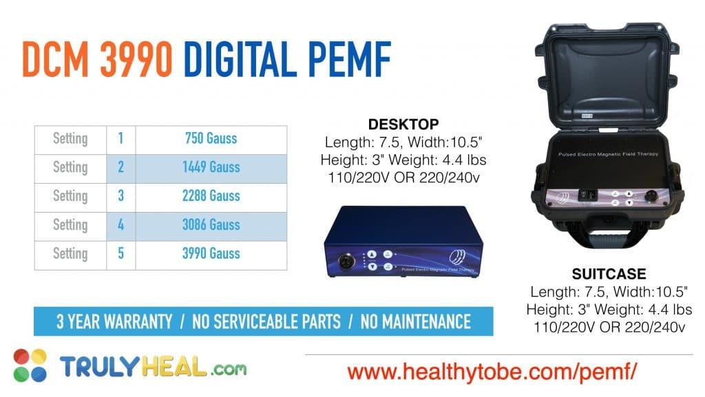 DCM3990 PEMF Device